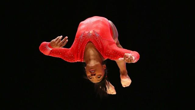 2015 World Artistic Gymnastics Championships - Day Seven; Simone Biles