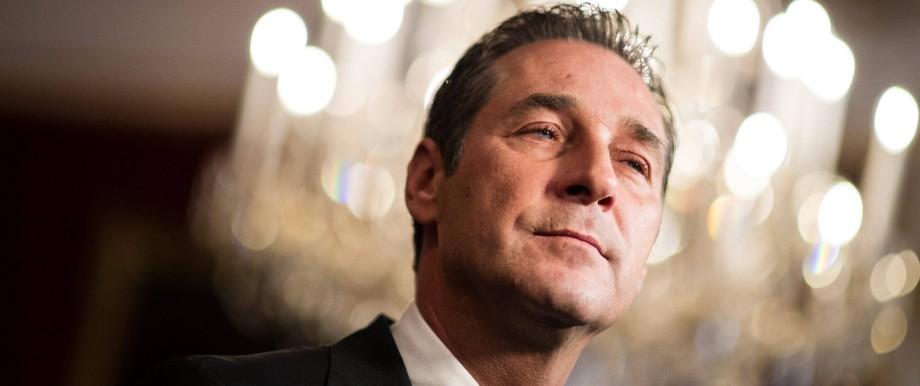 Razzien in Österreich: Die Korruptionsstaatsanwaltschaft ermittelt in mehreren Fällen gegen Heinz-Christian Strache. (Archivbild)