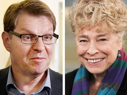 Ralf Stegner und Gesine Schwan wollen an die SPD-Spitze