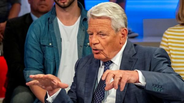 Gauck bei Maischberger
