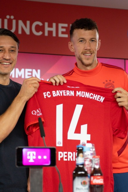 FC Bayern Muenchen Unveils New Signing Ivan Perisic