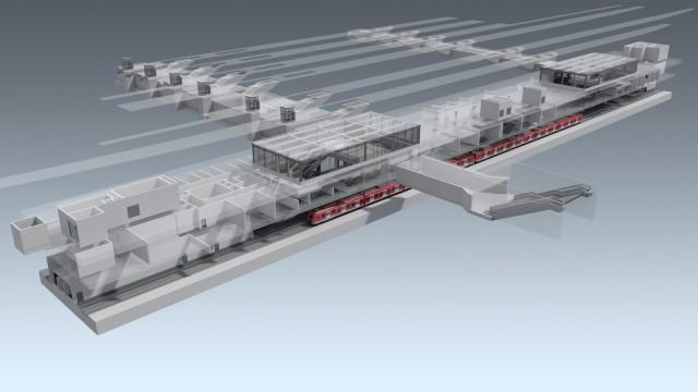 S-Bahn Stammstrecke Bahnhof Ostbahnhof neue Planung