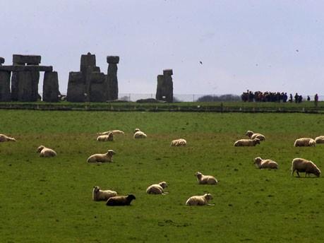 Stonehenge Steinkreis Großbritannien neolithische Steinanlage Südengland Salisbury