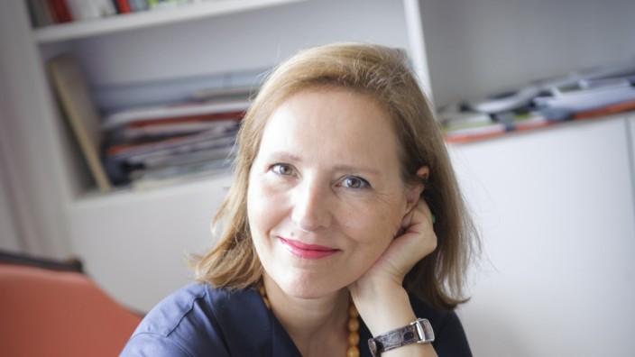 """Literaturhaus: Tanja Graf hat sich längst im Literaturhaus eingelebt. """"Es ist so eine vielseitige, bereichernde Arbeit"""", sagt sie."""