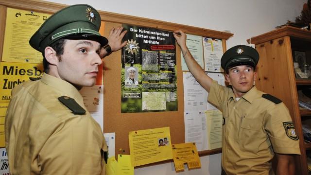 Aying, Polizeieinsatz im Mordfall von Kaltenbrunn, Foto: Angelika Bardehle