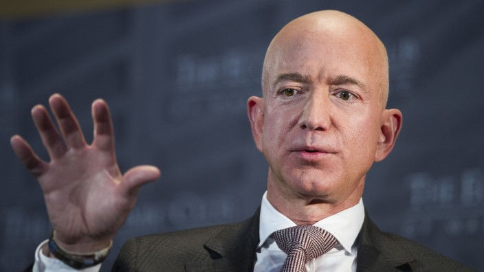 Amazon-Gründer Jeff Bezos 2018 in Washington