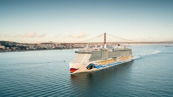 Das Kreuzfahrtschiff Aida Nova fährt mit Flüssiggas.