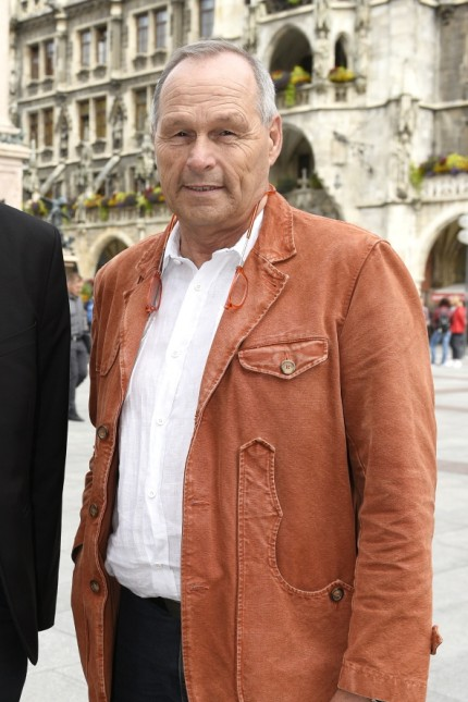 Kommunalwahl 2020: Zwei für München: Michael Piazolo, Stadtvorsitzender der Freien Wähler (links), und der Oberbürgermeisterkandidat der Partei Hans-Peter Mehling vor dem Rathaus.
