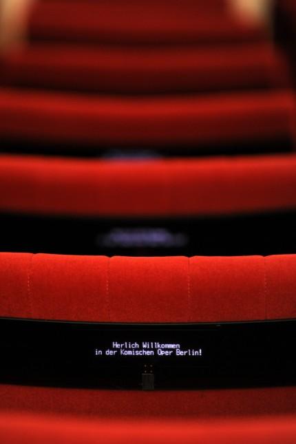 Neue Bestuhlung Komische Oper Berlin
