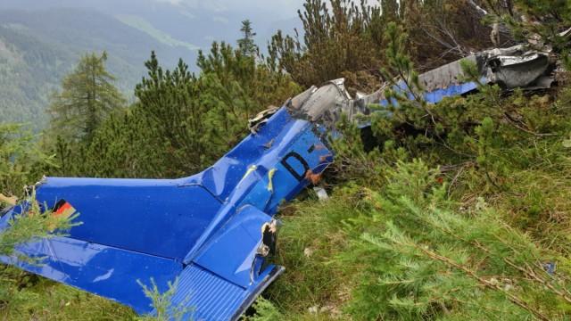 Vermisstes Kleinflugzeug in Bayern entdeckt