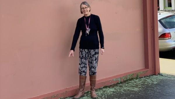 Die neuseeländische Botanikerin Allison Knight