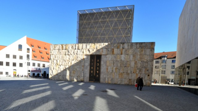 Das Jüdisches Museum und die Synagoge in München,.