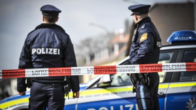 Polizeieinsatz in München, 2019