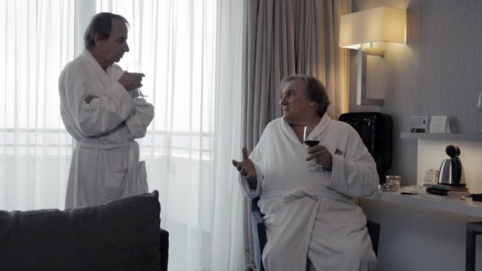 THALASSO 2019 de Guillaume Nicloux Michel Houellebecq Gerard Depardieu Les Films du Worso PUBLICATI