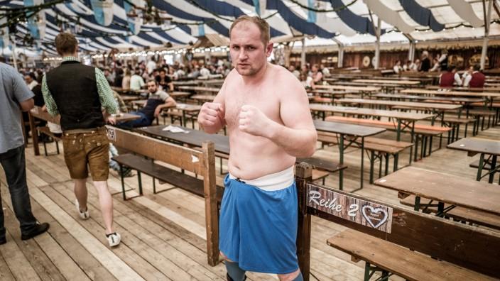 Boxer Jaroslav Fabric in Simbach am Inn, 2018