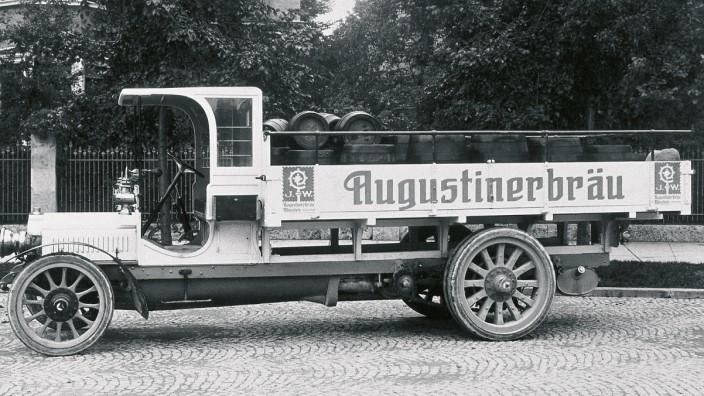 Die Inselkammers: Hans Inselkammer wurde 1981 einer von vier Gesellschaftern der Augustiner-Brauerei.