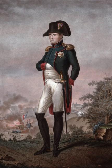 Napoleon 1e Grand Empereur des Francais Roi d Italie engraving after Bosio 1810 PUBLICATIONxI
