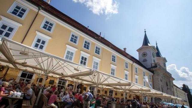 Herzogliches Bräustüberl Tegernsee in Tegernsee Datum 26 08 2019 *** Ducal Bräustüberl Tegernse
