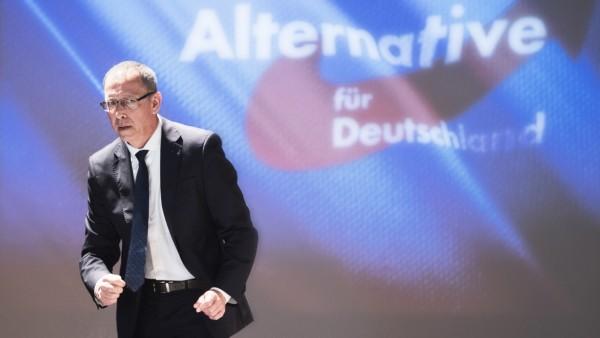 Landesparteitag AfD Sachsen