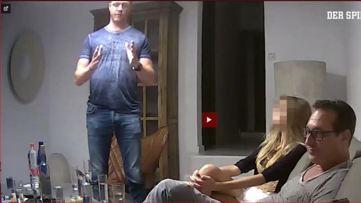 Ibiza-Affäre - Ausschnitt aus dem Strache-Video