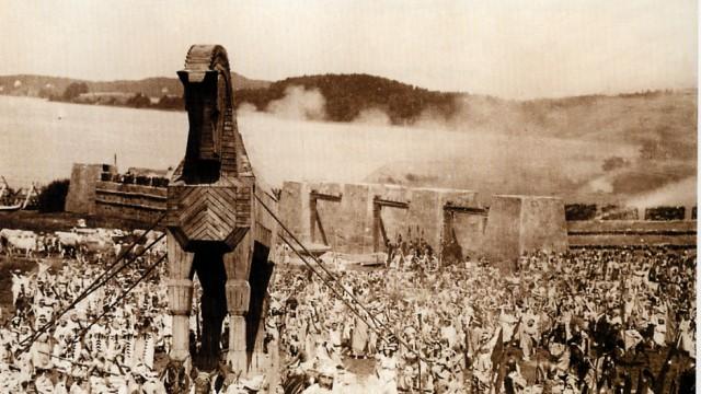 Filmaufnahmen zu Troja 1923 in Schlagenhofen am Wörthsee