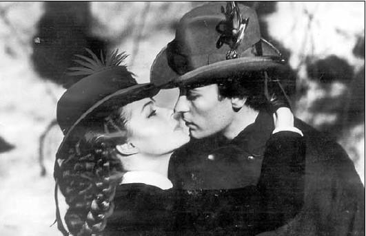 helmut berger und romy schneider beim Visconi-film Ludwig II. foto: SZ.Archiv