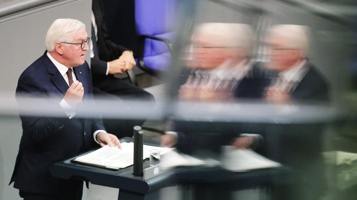 'Schicksalstag der Deutschen' Gedenkstunde im Bundestag