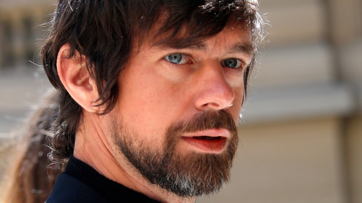 FILE PHOTO: Twitter's Dorsey Arrives at the 'Tech for Good' Summit in Paris