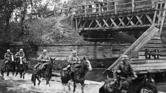 Deutsche Truppen, 1939, Deutsche Kavallerie in Polen, 1939   German troops, 1939