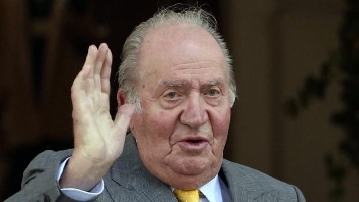 Spaniens Ex-König Juan Carlos nach Herz-OP aus Klinik entlassen