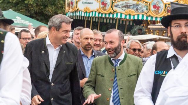 Politischer Frühschoppen auf Volksfest Gillamoos - CSU