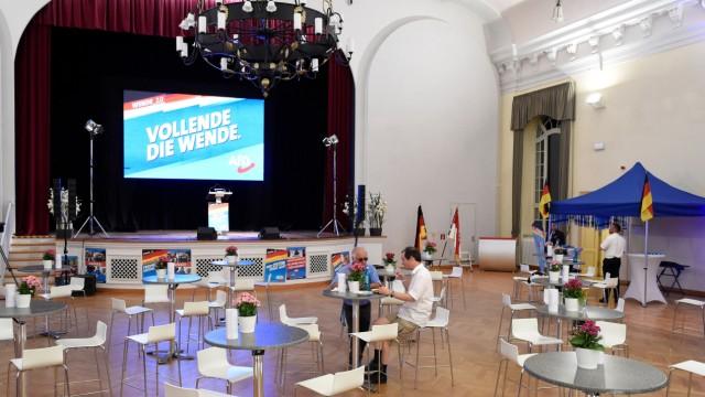 Landtagswahl Brandenburg - Wahlparty AfD