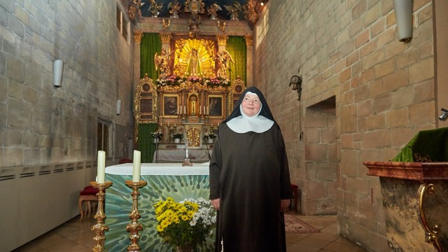 Schwester Benedicta Tschugg