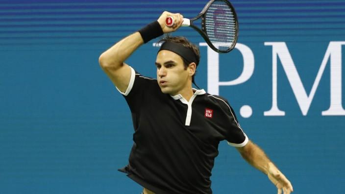 Federer US Open