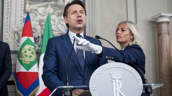 Giuseppe Conte, Ministerpräsident von Italien, in Rom 2019