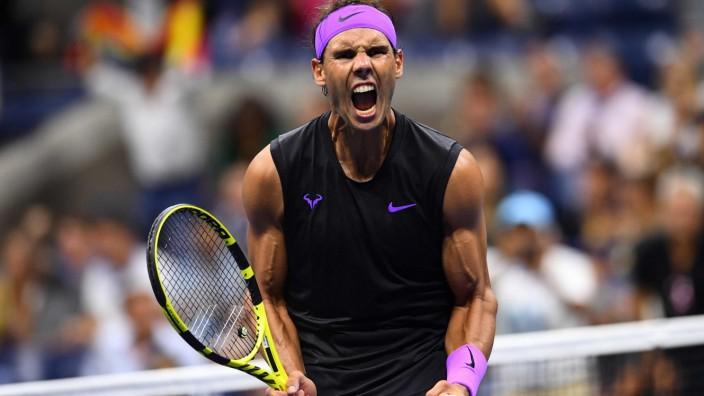 Rafael Nadal bei den US Open 2019