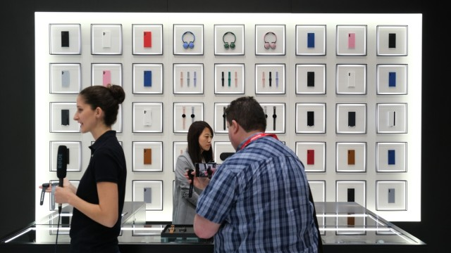 Samsung-Stand auf der IFA 2019 in Berlin