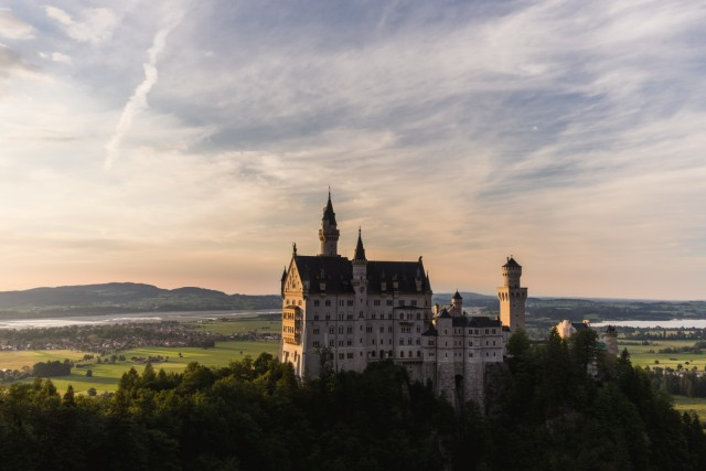 Neuschwanstein Schloss Bayern Allgäu Ludwig II. castle