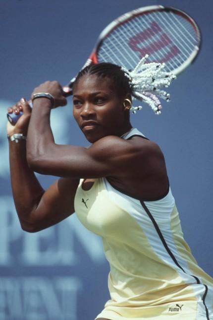 TENNIS: US OPEN 1999; Serena Williams