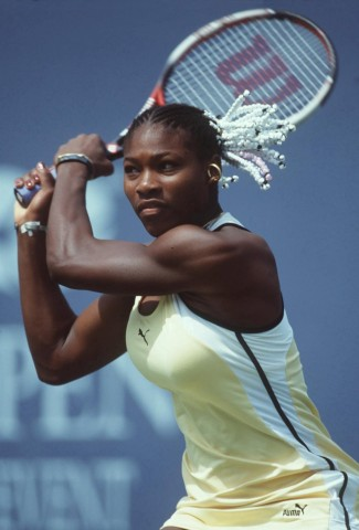 TENNIS: US OPEN 1999; Serena Williams