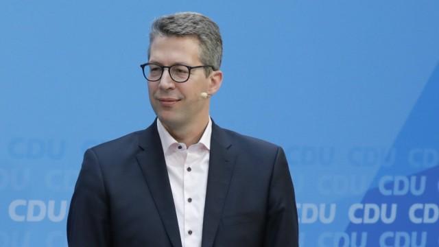 Markus Blume MdL Generalsekretär der CSU Deutschland Berlin Konrad Adenauer Haus CDU Werkstattg