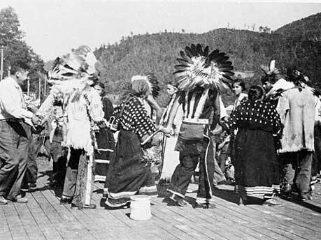 Cherokee-Indianer