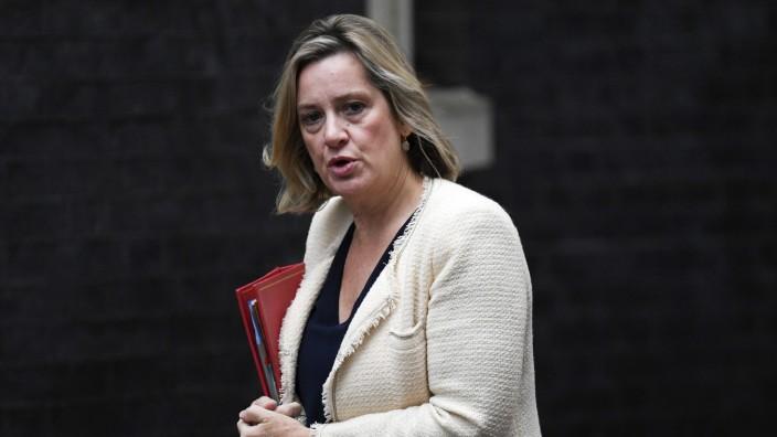 Brexit: Amber Rudd hat ihren Rücktritt erklärt.