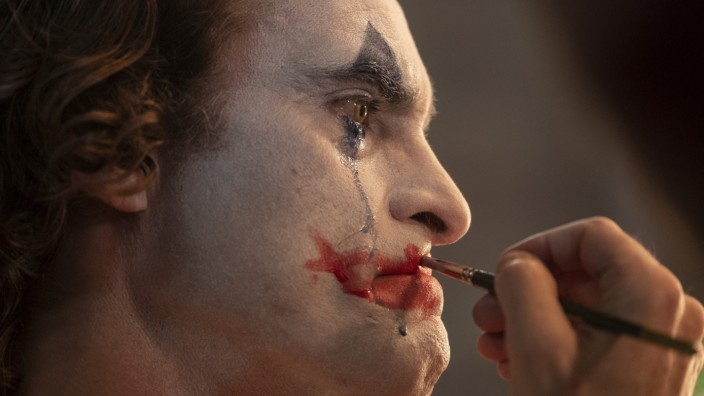 "Filmfestival Venedig: Joaquin Phoenix in ""Joker"", dem Hauptgewinner der diesjährigen Filmfestspiele von Venedig."