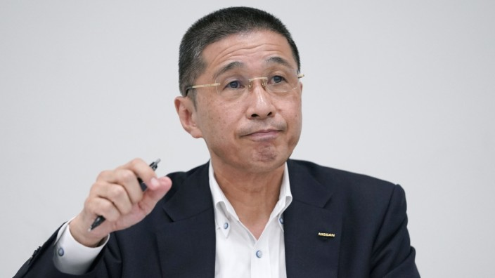 Nissan Board Brief Media After CEO Saikawa Says He's Ready To Resign Once Successor Is Found