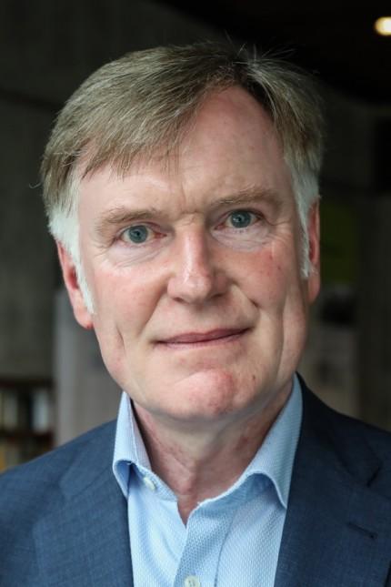 Björn Mensing in der KZ Gedenkstätte Dachau, 2018