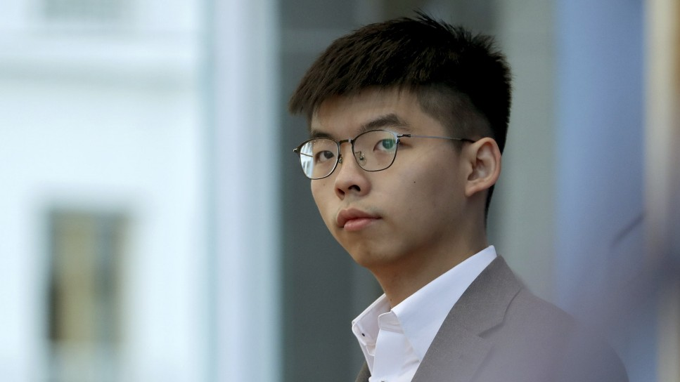 Hongkong-Aktivist Wong attackiert erneut China