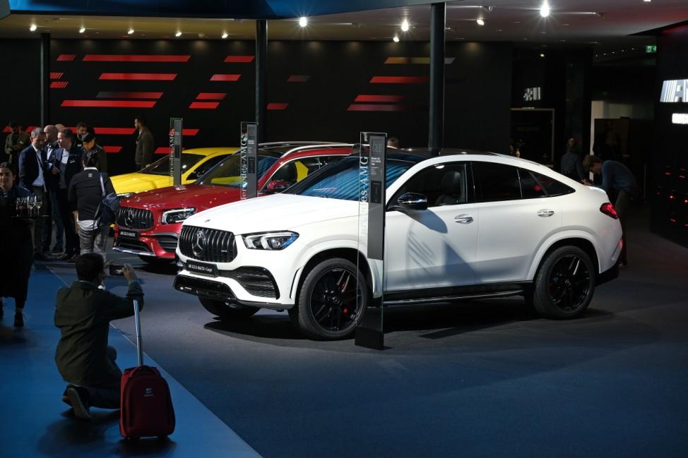 Mercedes-Benz Media Preview At IAA Frankfurt Auto Show