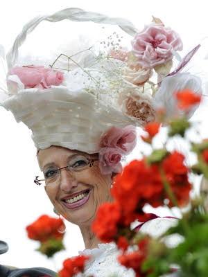 Hüte; Ascot Pferderennen England; Foto: afp