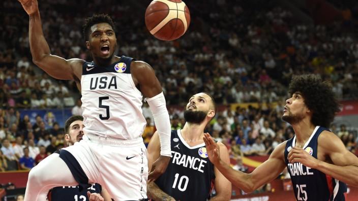 Basketball-WM 2019 - Viertelfinale USA gegen Frankreich